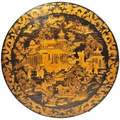Chinese Export Lacquer Table, 19th Century