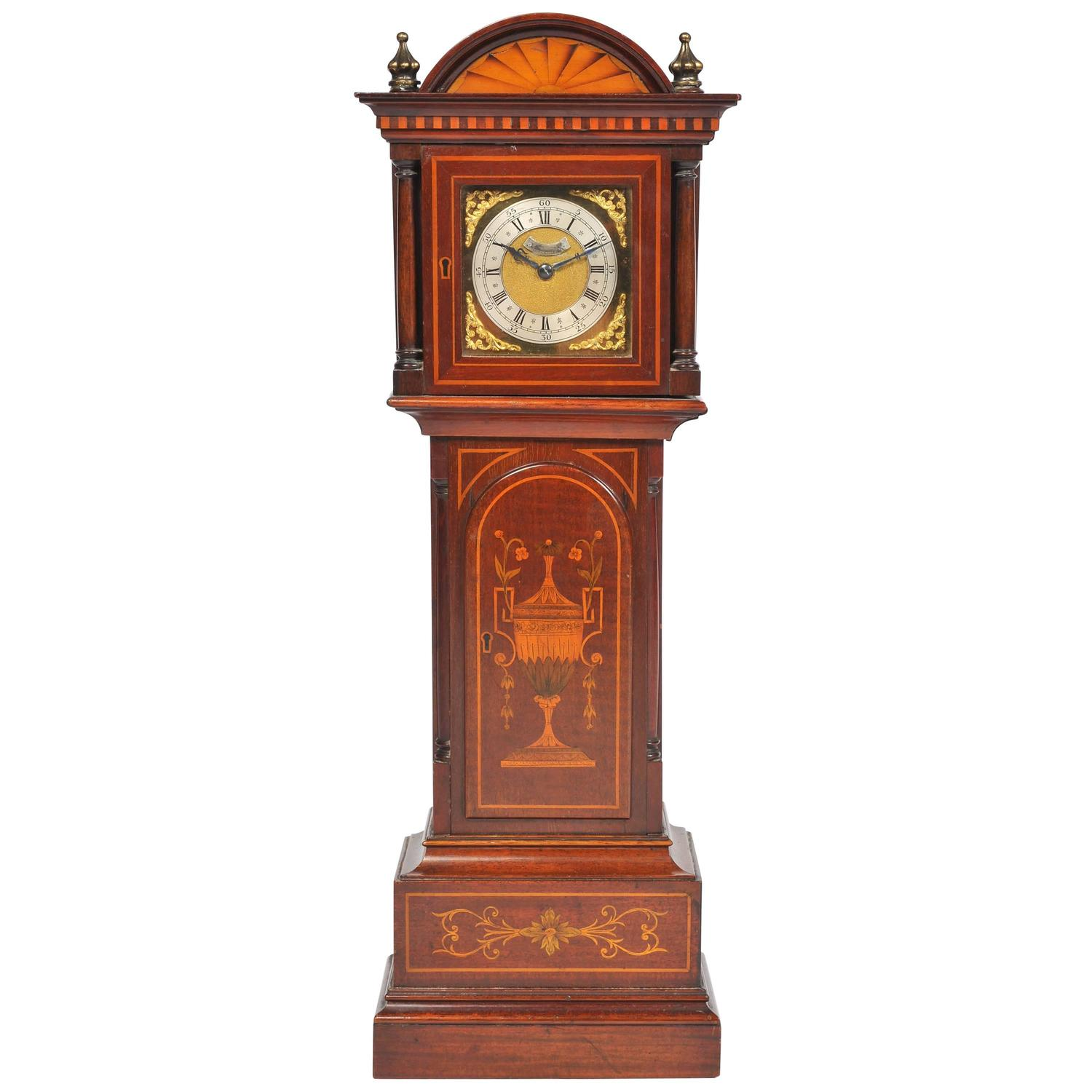 Miniature Grandfather Clock For Sale At 1stdibs
