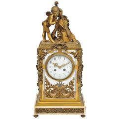 19th Century Louis XVI style,  Mantel Clock