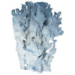Coral Sculpture, Blue