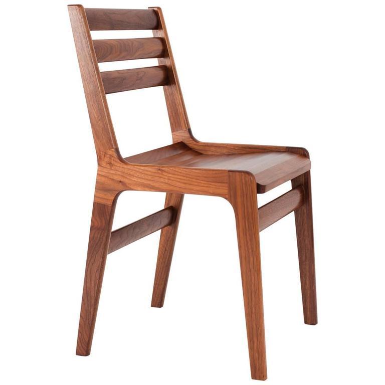 Asa Pingree Fenelon Dining Chair in Walnut, Oak, Ebonized Maple or Fog Gray Ash 1