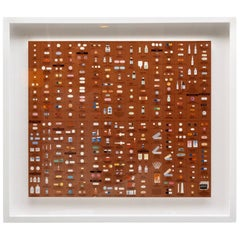 "Damien Hirst Bronze ""Pharmacy"" Wallpaper"