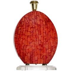 Coral Madrepora Italian Table  Lamp Design Giovanni Patrini