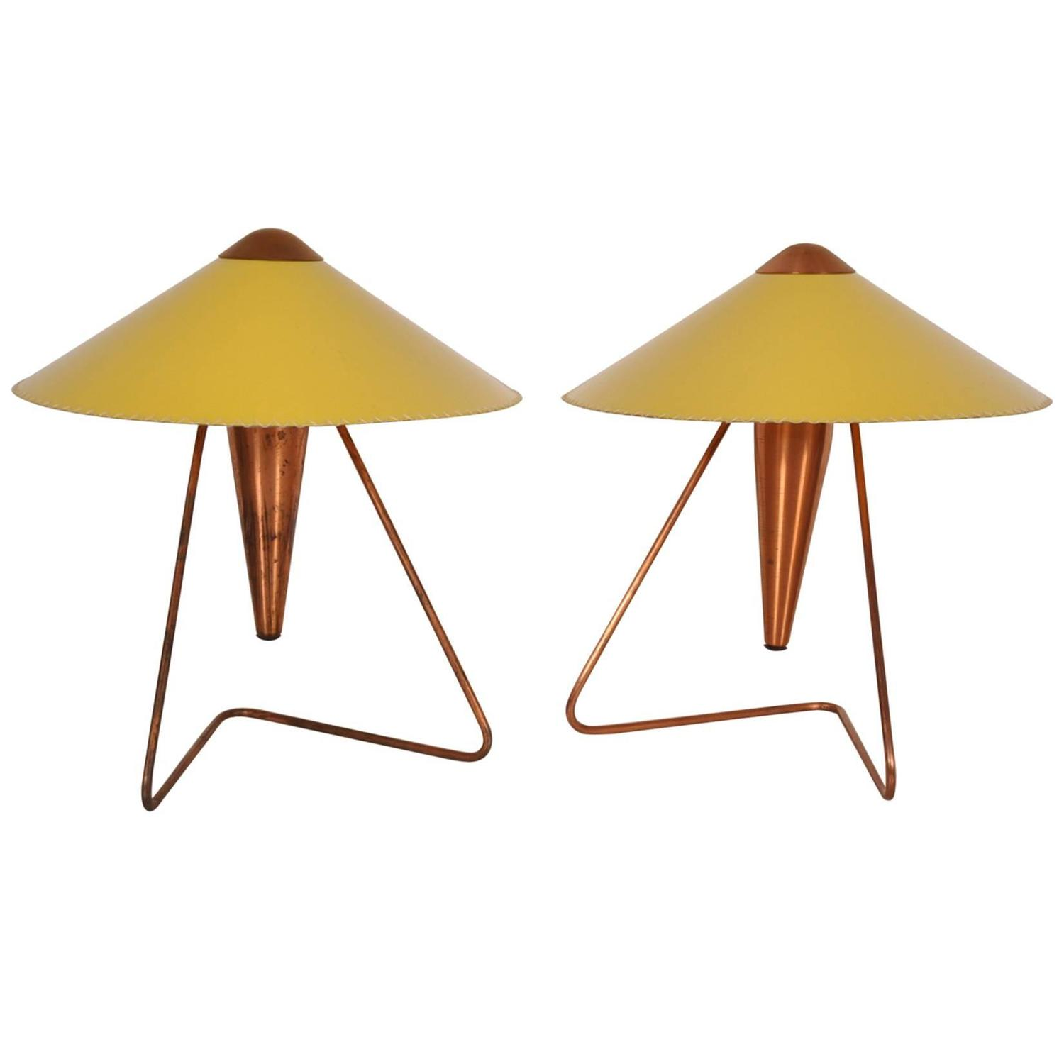 Set Of Two Table Lamps Czech Table Lamps 61 For Sale At 1stdibs