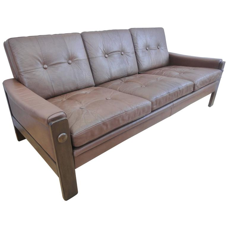 ... Skipper Mobler Three-Seat Sofa or Couch, 1970s is no longer available