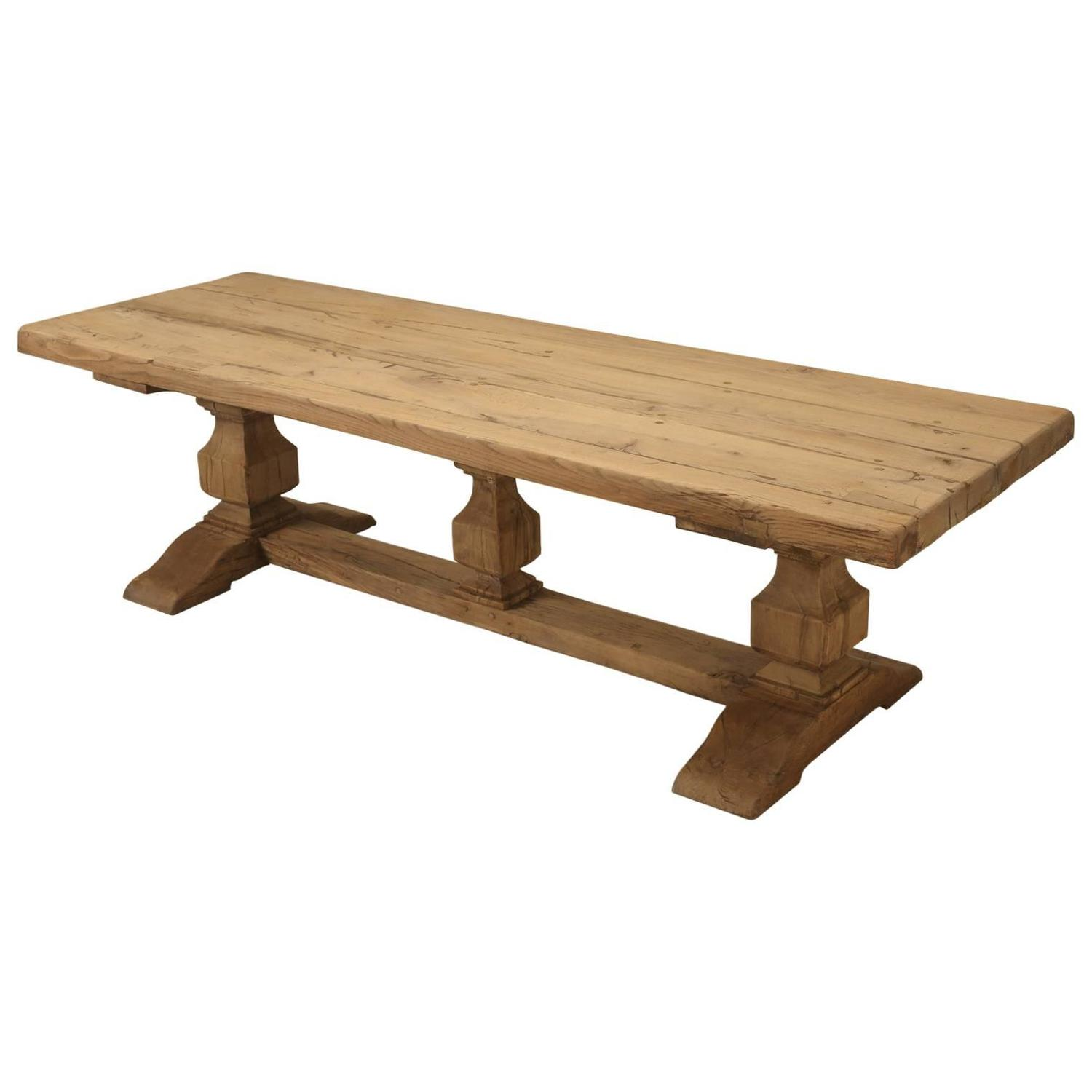 French trestle antique dining table for sale at 1stdibs - Antique french dining tables ...