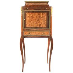 Small 19th Century Cabinet on Stand, in the Manner of L. BOUDIN