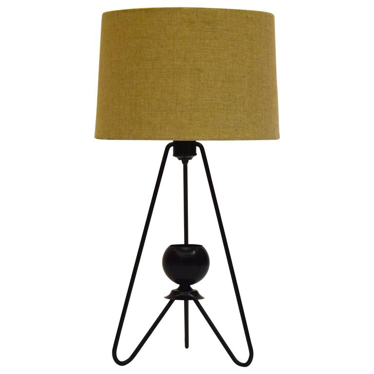 Early Table Lamp By Gerald Thurston For Lightolier For