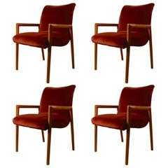 Set of Four Dining Chairs Russel Wright for Conant Ball