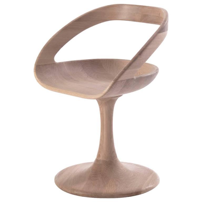 Wood Designed Chair in Solid Oakwood
