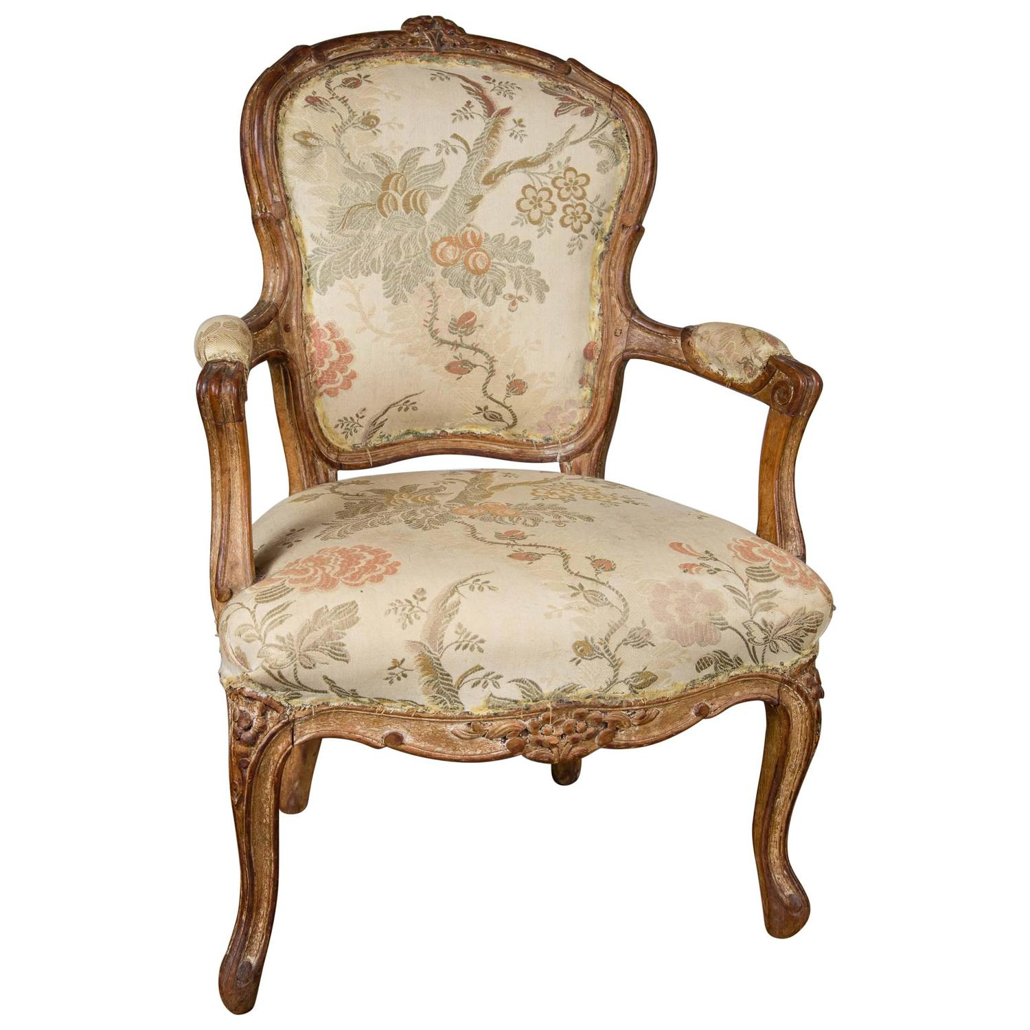 period louis xv child 39 s fauteuil at 1stdibs. Black Bedroom Furniture Sets. Home Design Ideas