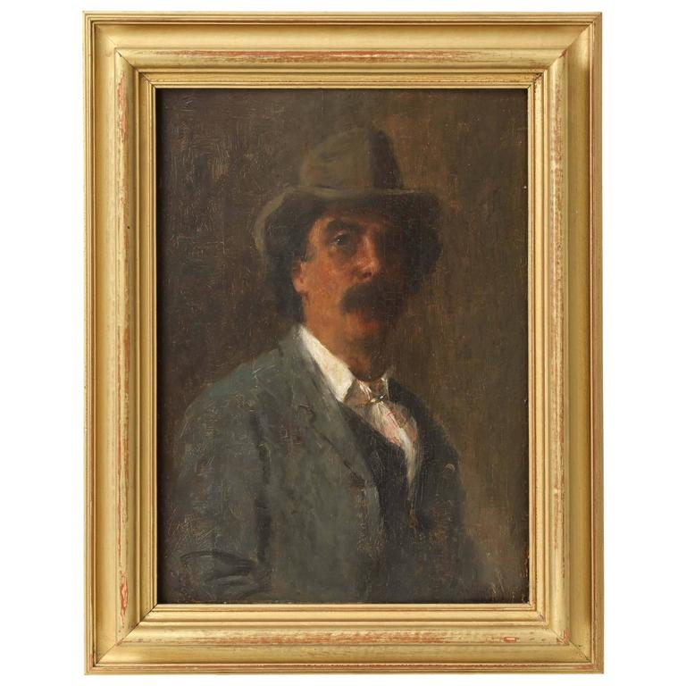 Portrait of Puccini by Arthur Meade 1
