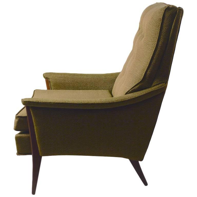 stylish midcentury club chair by kroehler furniture company 1 - Kroehler Furniture
