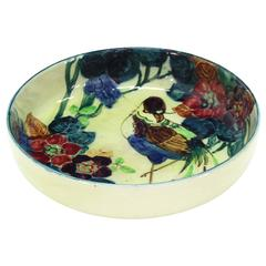 English Hand Decorated Bowl Charger Phoenix Ware