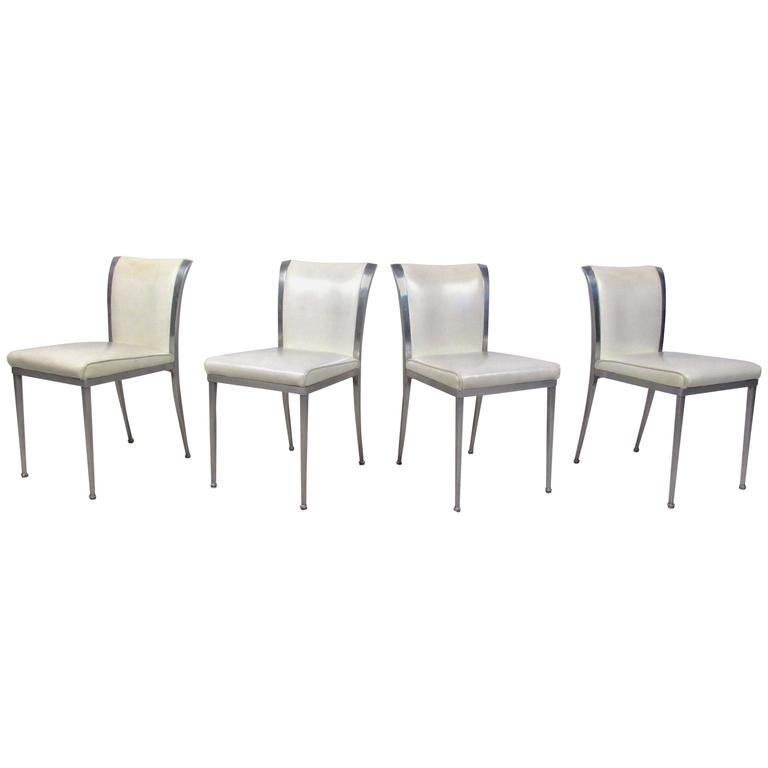 Set of Four Mid-Century Modern Dining Chairs