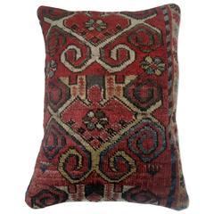 Antique Ersari Rug Pillow