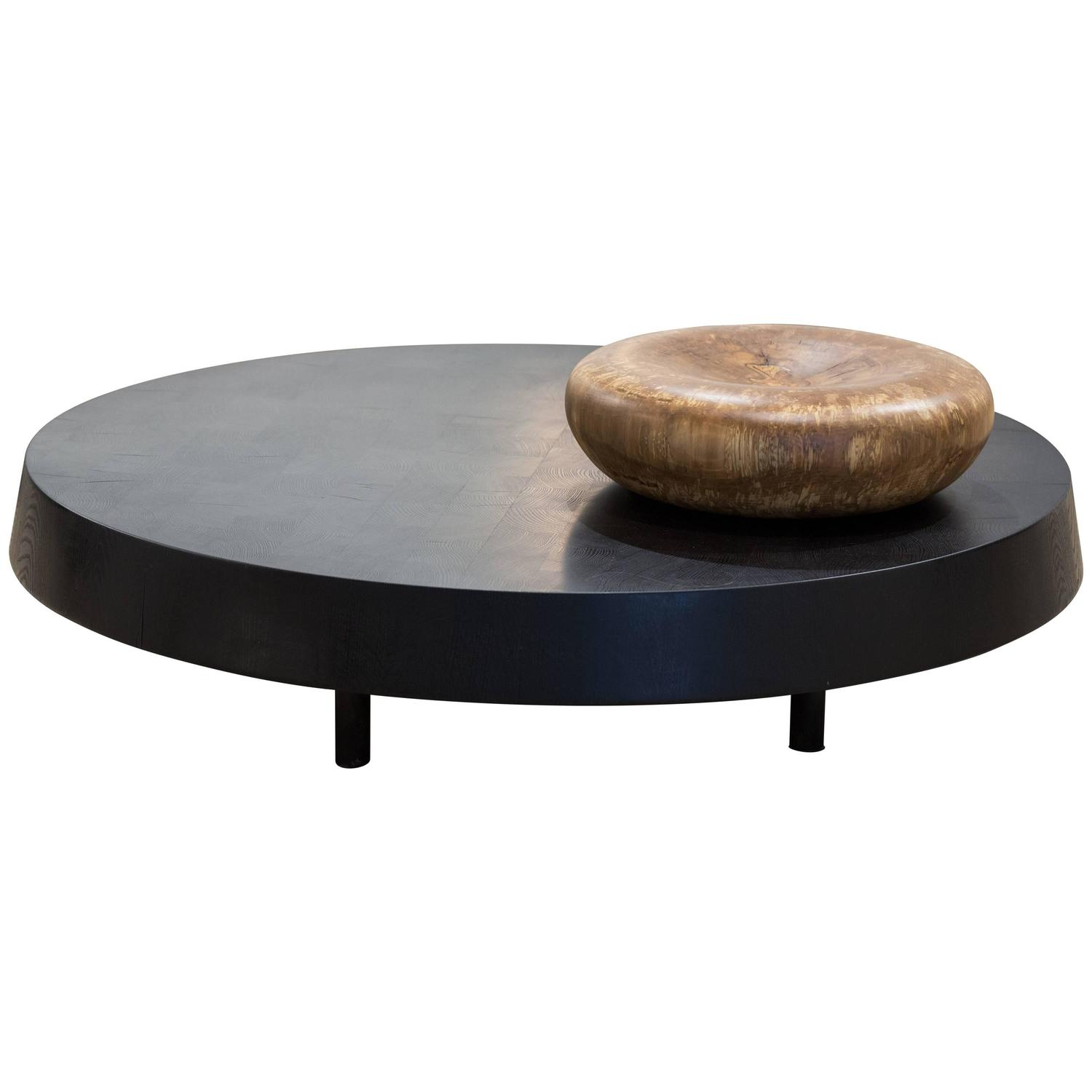 Floating Block Table by Blackcreek Mercantile and Trading Co in