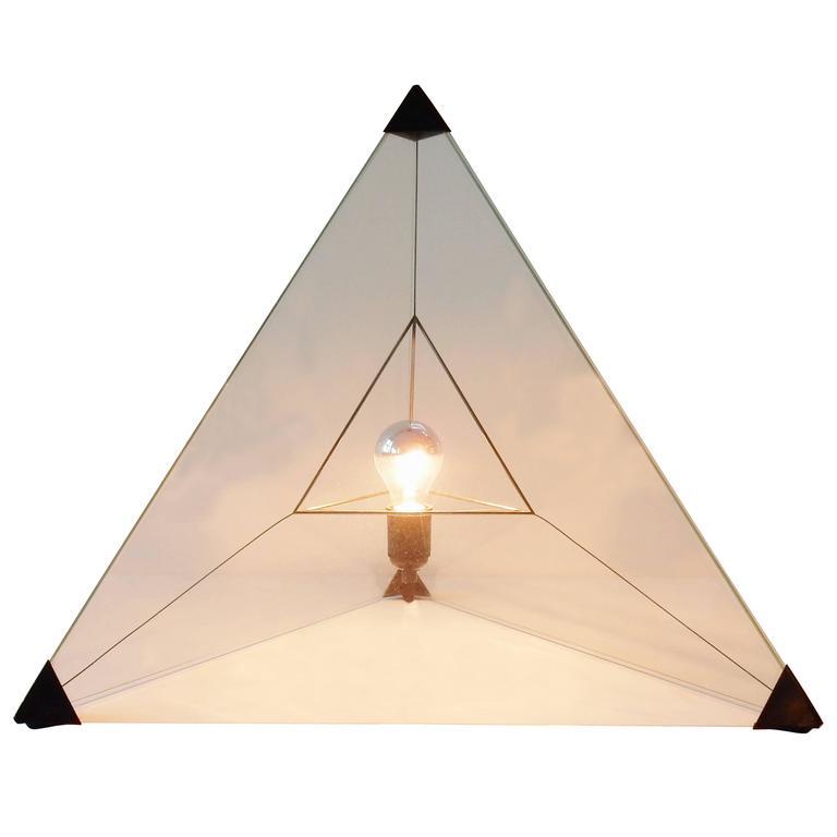 'Tetrahedron' Table or Floor Lamp, Dutch Design, 1970s