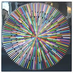 Color Pencil Sunburst by Mauro Oliveira