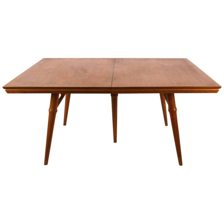 Large Russel Wright for Conant Ball Dining Table For Sale