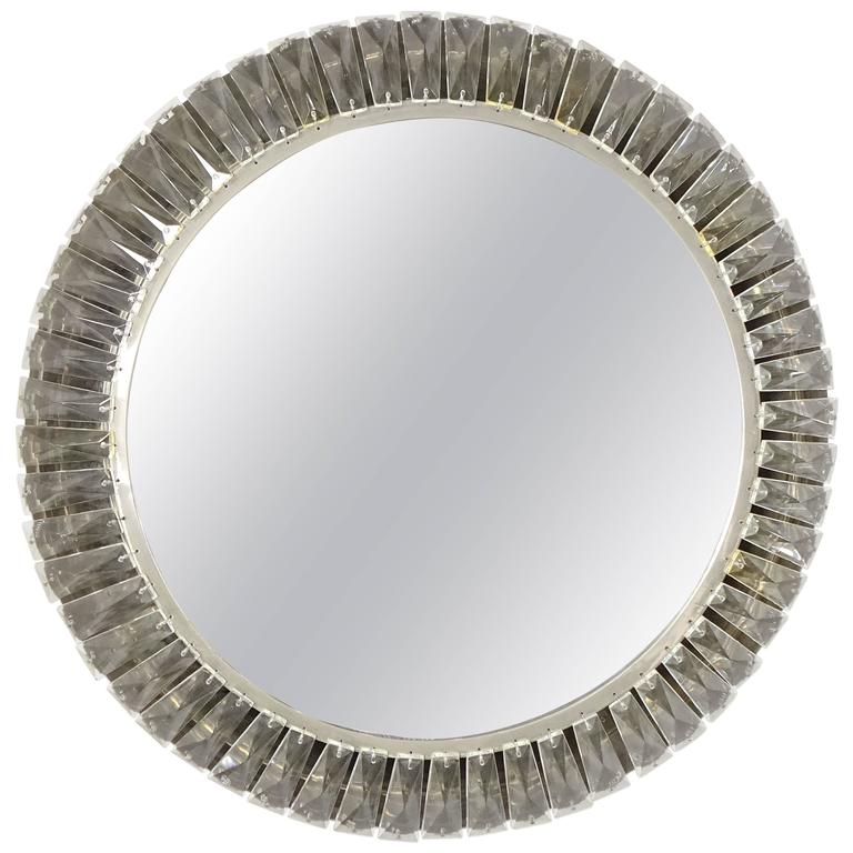 Beautiful Unique Bakalowits & Sohne Vienna Backlight Wall Mirror