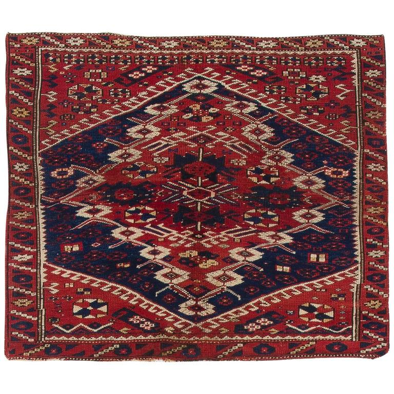 Antique Turkish Bergama Rug For Sale At 1stdibs
