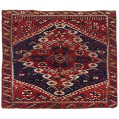 Antique Turkish Bergama Rug
