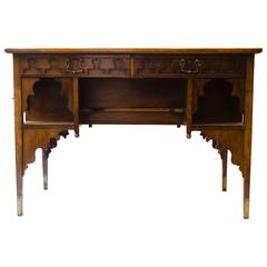 Edward William Godwin for William Watt, An Anglo-Japanese Walnut Desk.