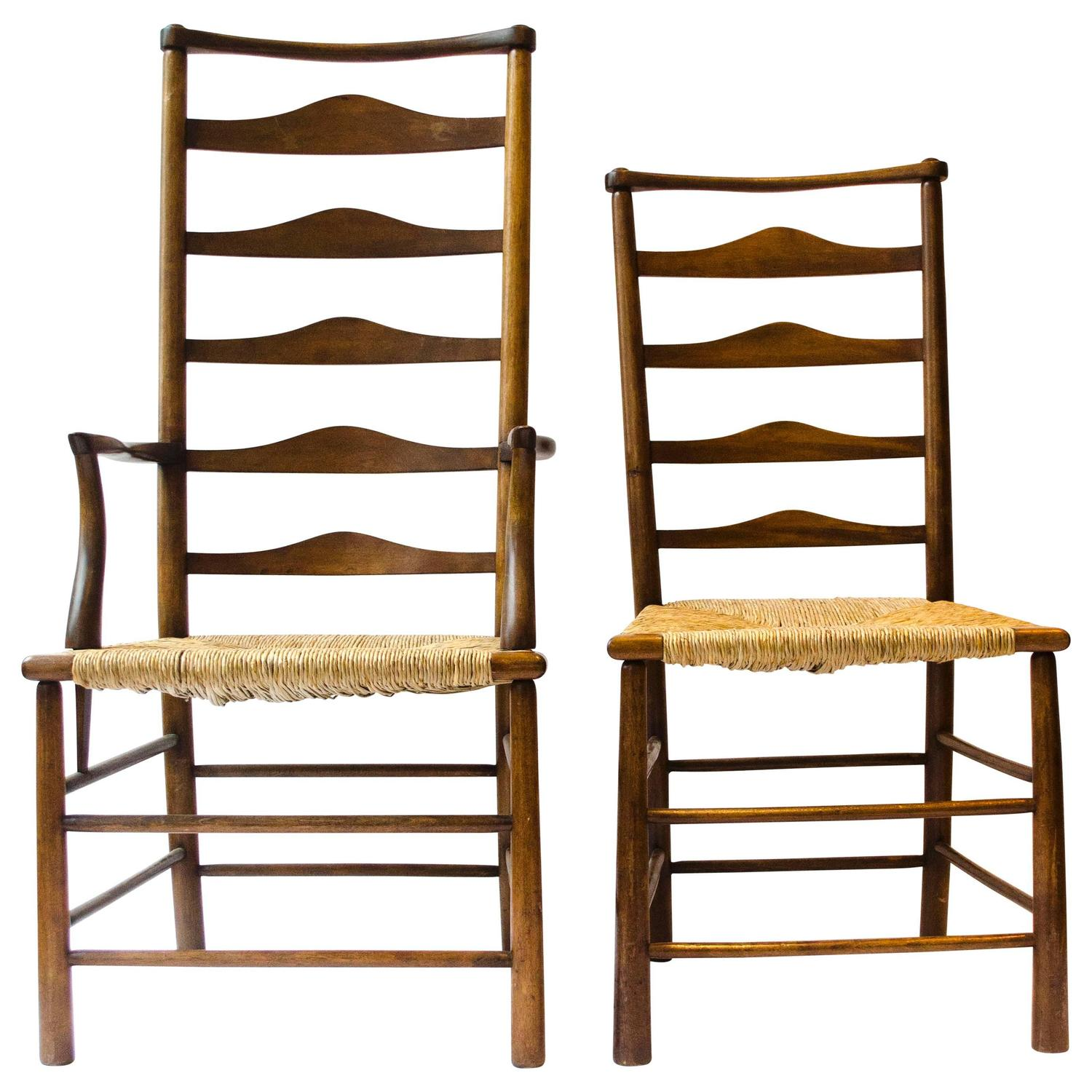 Ladder Back Chairs 190 For Sale on 1stdibs