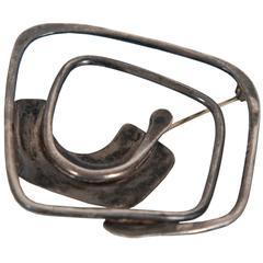Art Smith Sterling Brooch