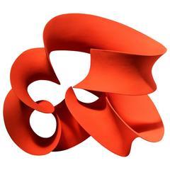 Orange Continuous Form by Merete Rasmussen