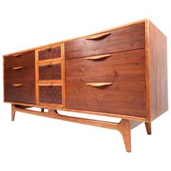 Mid-Century Modern Walnut Dresser by Warren Church for Lane