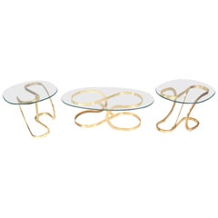 Mid-Century Modern Coffee and End Table Set