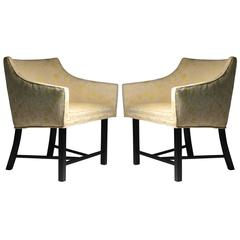 Adorable Pair of Harvey Probber Club Chairs