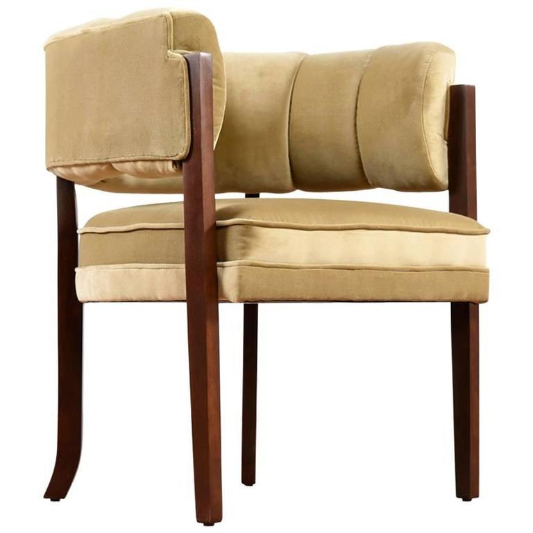 Modern Larry Laslo Carmel Club Chair by Directional