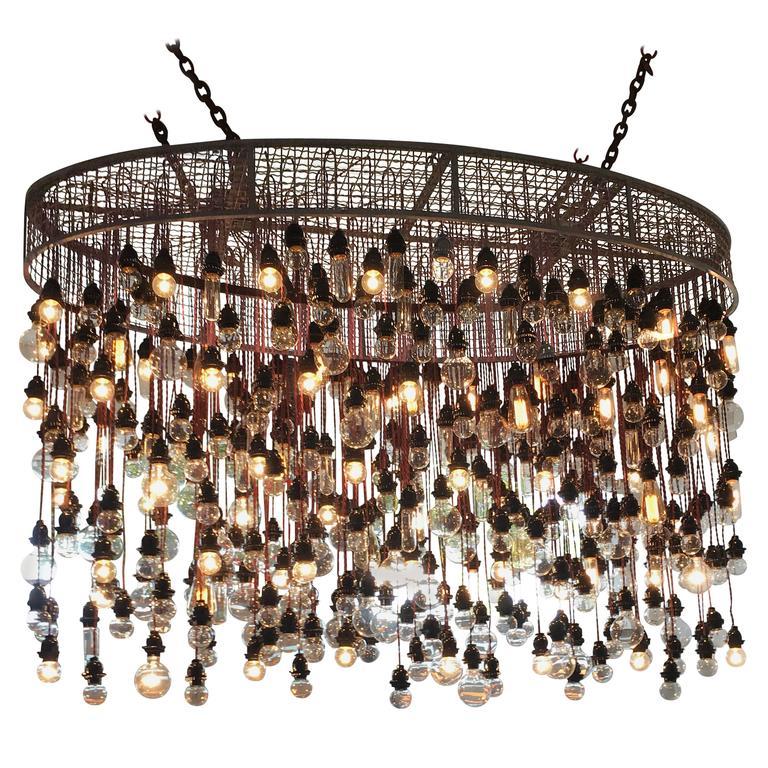 400 bulbs industrial chandelier at 1stdibs 400 bulbs industrial chandelier for sale mozeypictures Image collections