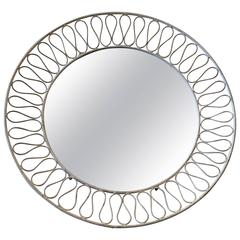 John Salterini Iron Wall or Tray Mirror