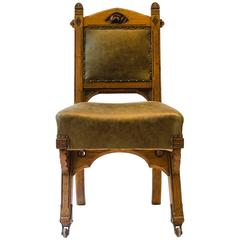 Gothic Revival Chair by Bruce Talbert