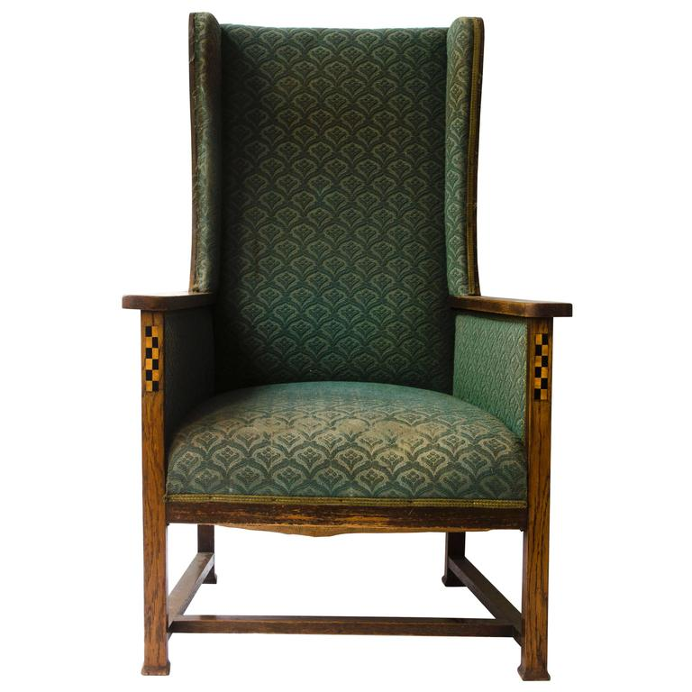 Arts And Crafts Armchair By M H Baillie Scott For Sale At