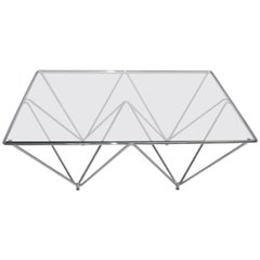 Coffee Table in the Style of Paolo Piva, Italy, 1980s