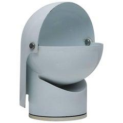 """Pileino"" White Enameled Adjustable Lamp by Gae Aulenti for Artemide, 1972"