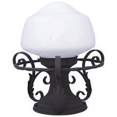 1920s Spanish Revival Ceiling Mount Light