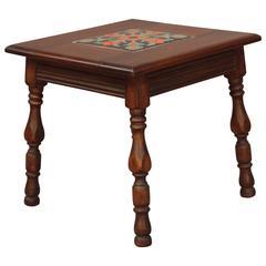 1920s Small California Tile Table