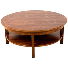 Stylish and Large Mid-Century Modern Coffee Table, 1970s
