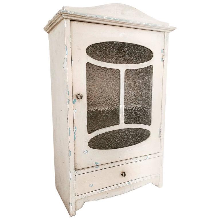 french art nouveau bathroom medicine cabinet at 1stdibs