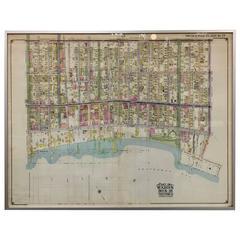 Rare 1916 Map of Brooklyn