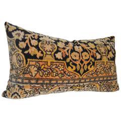 Custom Pillow Cut from a Dutch Mohair Textile, circa 1915