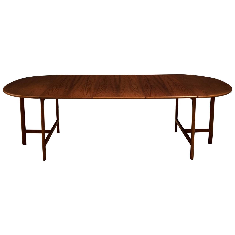 Scandinavian expandable teak dining table at 1stdibs - Dining table scandinavian ...