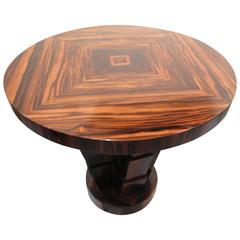art deco occasional table in the style of michel dufet le bucheron edition art deco style furniture occasional coffee