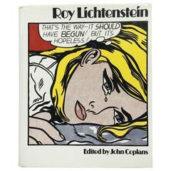 """""""Roy Lichtenstein- John Coplans 1st edition 1973"""